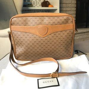 Gucci Crossbody Mini Messenger Bag Vintage